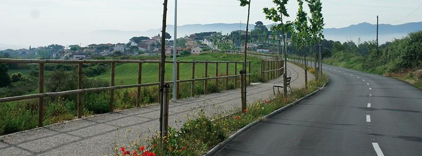 Primers tràmits per a la via verda entre Piera i Hostalets