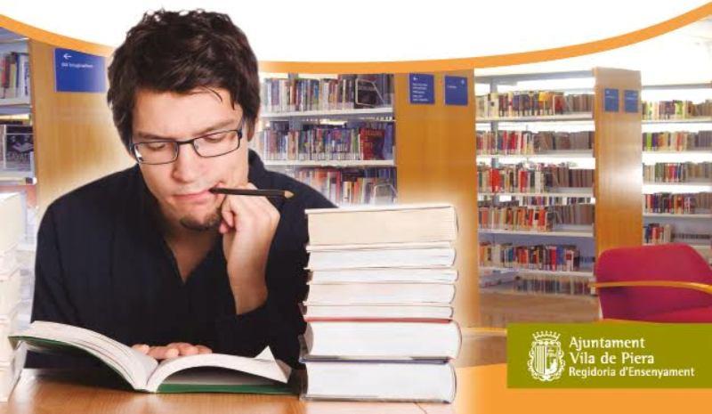 Aula d'estudi per als exàmens finals