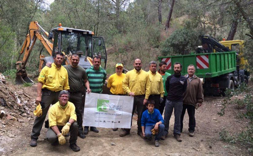 Netegem Piera: campanya Europea de netejar espais naturals