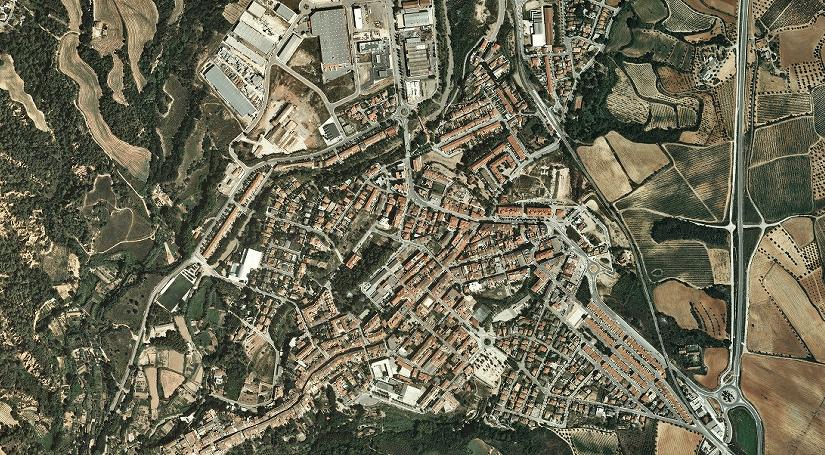 Informació cartogràfica de Piera