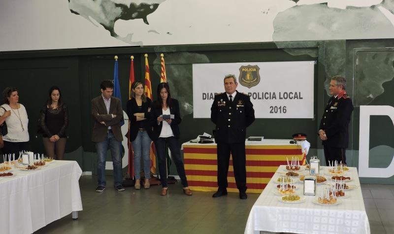 Celebració de la Diada de la Policia de Piera