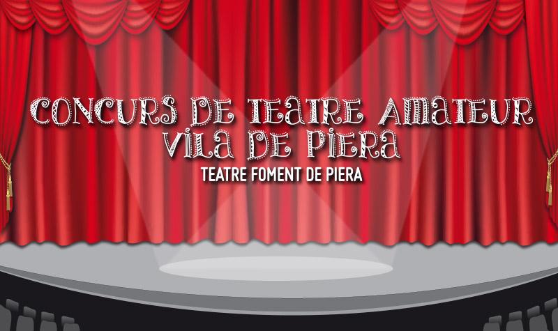Bases de participació al 40è Concurs de Teatre Vila de Piera
