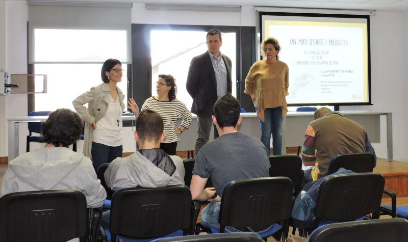 El Servei d'Ocupació Local ha organitzat jornades sobre sensibilització a l'emprenedoria