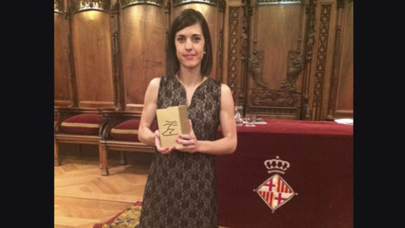 La pierenca Maria Guixà rep el Premi Dona i Esport al Mitjà de Comunicació