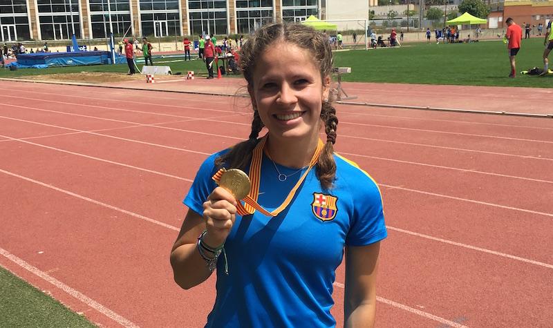 Sheila Garcia millor atleta 2015